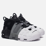 Мужские кроссовки Nike Air More Uptempo '96 Tri-Color Black/Cool-Grey/White фото- 2