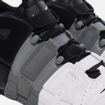 Мужские кроссовки Nike Air More Uptempo '96 Tri-Color Black/Cool-Grey/White фото- 3