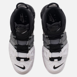 Мужские кроссовки Nike Air More Uptempo '96 Tri-Color Black/Cool-Grey/White фото- 4