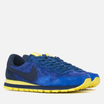 Мужские кроссовки Nike Air Pegasus 83 Leather Midnight Navy/Light Volt Yellow фото- 1