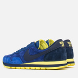 Мужские кроссовки Nike Air Pegasus 83 Leather Midnight Navy/Light Volt Yellow фото- 2