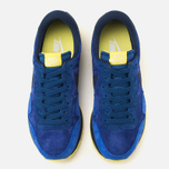 Мужские кроссовки Nike Air Pegasus 83 Leather Midnight Navy/Light Volt Yellow фото- 4