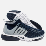 Мужские кроссовки Nike Air Presto Flyknit Ultra College Navy/Wolf Grey фото- 1
