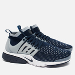 Мужские кроссовки Nike Air Presto Flyknit Ultra College Navy/Wolf Grey фото- 2