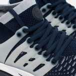 Мужские кроссовки Nike Air Presto Flyknit Ultra College Navy/Wolf Grey фото- 3