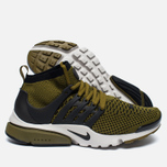 Мужские кроссовки Nike Air Presto Flyknit Ultra Olive Flak/Black/Light Bone фото- 1
