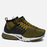 Мужские кроссовки Nike Air Presto Flyknit Ultra Olive Flak/Black/Light Bone фото- 2