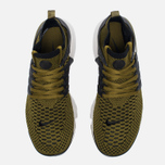 Мужские кроссовки Nike Air Presto Flyknit Ultra Olive Flak/Black/Light Bone фото- 4