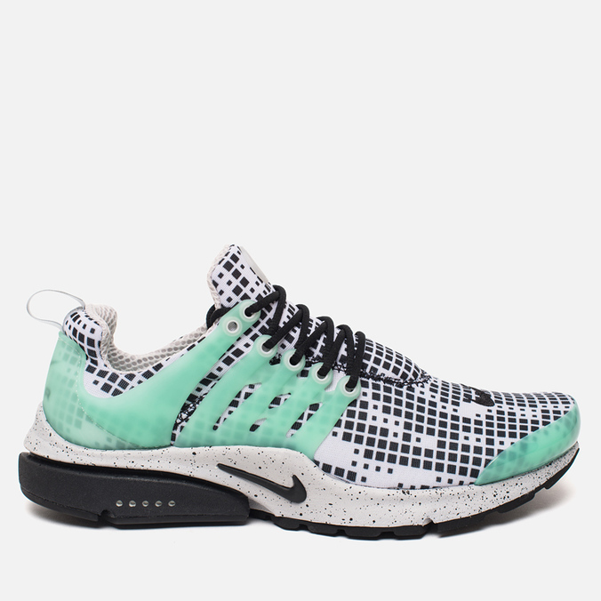 Мужские кроссовки Nike Air Presto GPX Pixel Camo White/Black/Green Glow/Grey