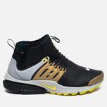 Мужские кроссовки Nike Air Presto Mid Utility Black/Yellow Streak/Metallic Gold фото- 0