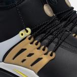 Мужские кроссовки Nike Air Presto Mid Utility Black/Yellow Streak/Metallic Gold фото- 3