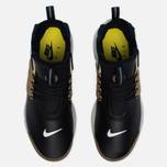 Мужские кроссовки Nike Air Presto Mid Utility Black/Yellow Streak/Metallic Gold фото- 4