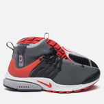 Мужские кроссовки Nike Air Presto Mid Utility Dark Grey/Max Orange/Black/Wolf Grey/White фото- 1