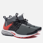 Мужские кроссовки Nike Air Presto Mid Utility Dark Grey/Max Orange/Black/Wolf Grey/White фото- 2