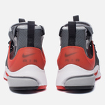 Мужские кроссовки Nike Air Presto Mid Utility Dark Grey/Max Orange/Black/Wolf Grey/White фото- 3