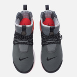 Мужские кроссовки Nike Air Presto Mid Utility Dark Grey/Max Orange/Black/Wolf Grey/White фото- 4