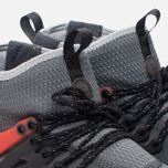 Мужские кроссовки Nike Air Presto Mid Utility Dark Grey/Max Orange/Black/Wolf Grey/White фото- 5