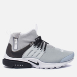 Мужские кроссовки Nike Air Presto Mid Utility Wolf Grey/Black/White фото- 0