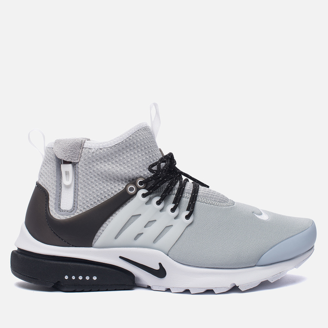 Мужские кроссовки Nike Air Presto Mid Utility Wolf Grey/Black/White