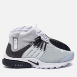 Мужские кроссовки Nike Air Presto Mid Utility Wolf Grey/Black/White фото- 1