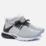 Мужские кроссовки Nike Air Presto Mid Utility Wolf Grey/Black/White фото- 2