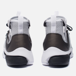 Мужские кроссовки Nike Air Presto Mid Utility Wolf Grey/Black/White фото- 3
