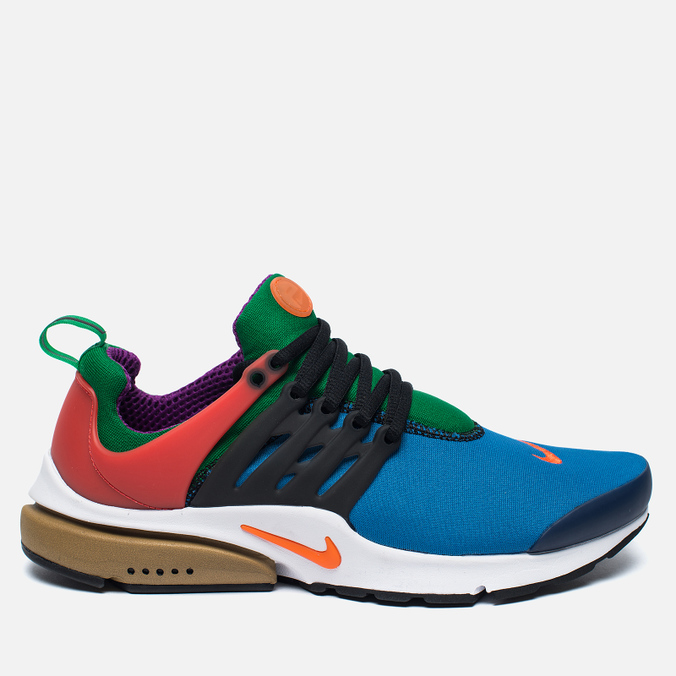 Мужские кроссовки Nike x Beams Air Presto QS Star Blue/Orange Blaze/Black/Pine Green