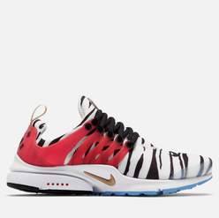 Мужские кроссовки Nike Air Presto South Korea White/Metallic Gold/Black/Red Orbit