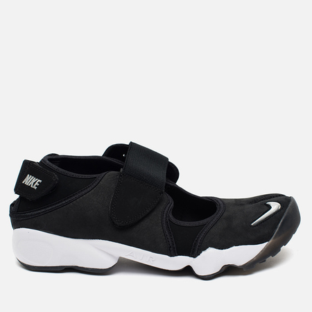 Nike Air Rift Anniversary QS Men's Sneakers Black/Metallic Silver