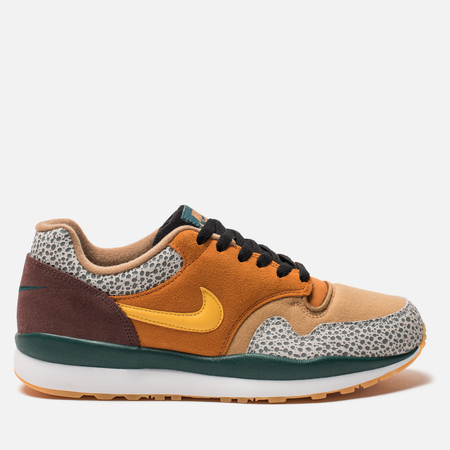 Мужские кроссовки Nike Air Safari SE atmos Monarch/Yellow Ochre/Flax/Mahogany Mink