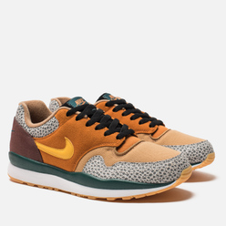 Мужские кроссовки Nike Air Safari SE atmos Monarch/Yellow Ochre/Flax/Mahogany Mink