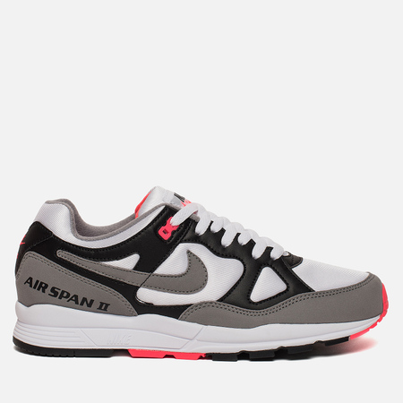 Мужские кроссовки Nike Air Span II Black/Dust/Solar Red/White