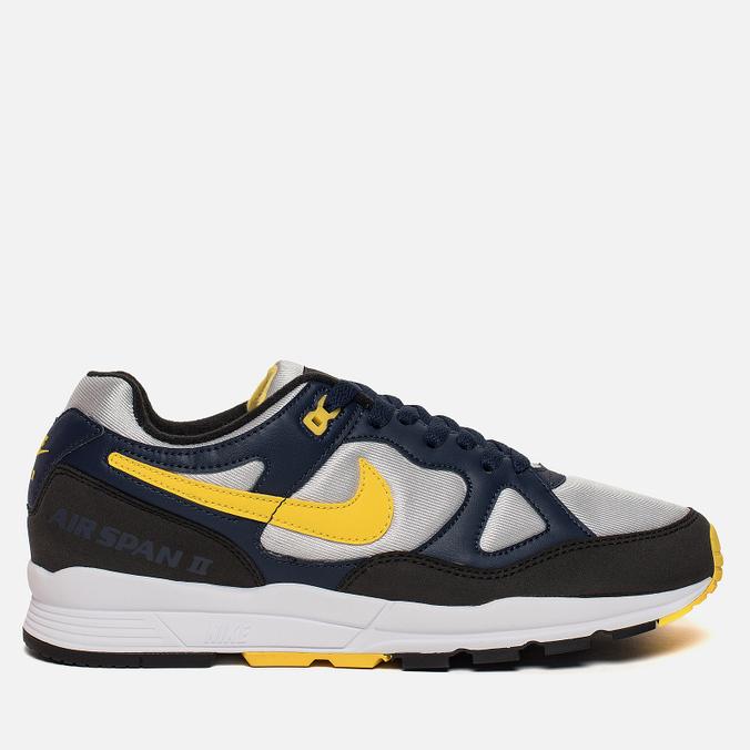 Мужские кроссовки Nike Air Span II Blue/Yellow