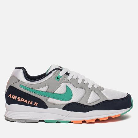 Мужские кроссовки Nike Air Span II Wolf Grey/Kinetic Green/Obsidian