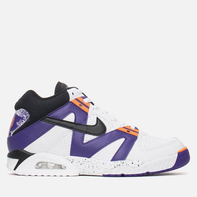Мужские кроссовки Nike Air Tech Challenge III White/Voltage Purple/Bright Mandarin