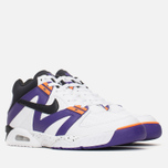 Мужские кроссовки Nike Air Tech Challenge III White/Voltage Purple/Bright Mandarin фото- 1