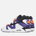 Мужские кроссовки Nike Air Tech Challenge III White/Voltage Purple/Bright Mandarin фото- 2