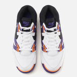 Мужские кроссовки Nike Air Tech Challenge III White/Voltage Purple/Bright Mandarin фото- 3