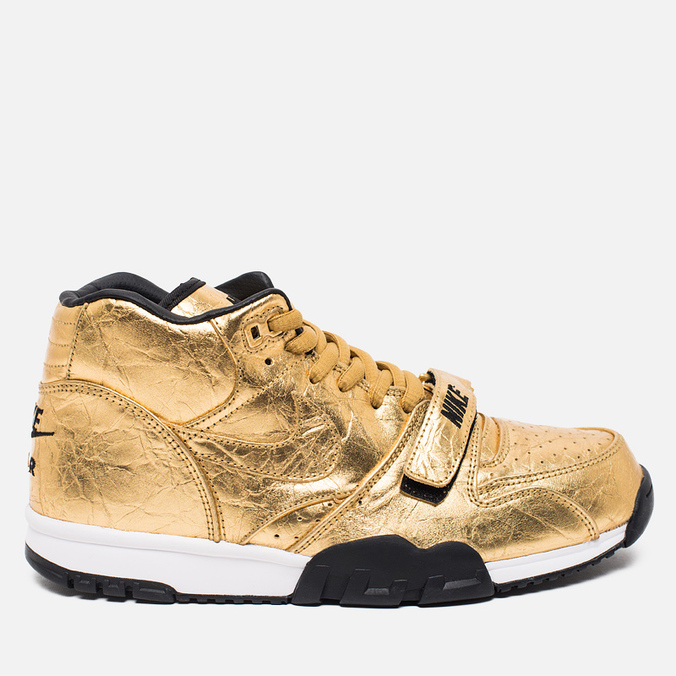 Nike Air Trainer 1 PRM QS Superbowl 50 Men's Sneakers Metallic Gold
