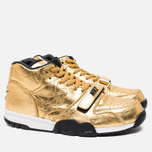 Мужские кроссовки Nike Air Trainer 1 PRM QS Superbowl 50 Metallic Gold фото- 1