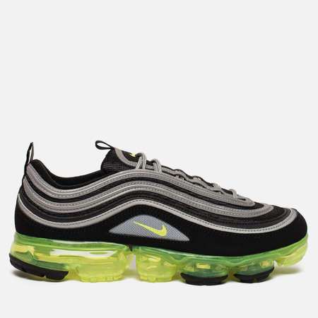 Мужские кроссовки Nike Air Vapormax 97 Black/Volt Metallic/Silver White