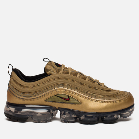 Мужские кроссовки Nike Air Vapormax '97 Metallic Gold/Varsity Red/Black