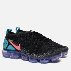 Мужские кроссовки Nike Air Vapormax Flyknit 2 Black/Hot Punch/White/Dusty Cactus