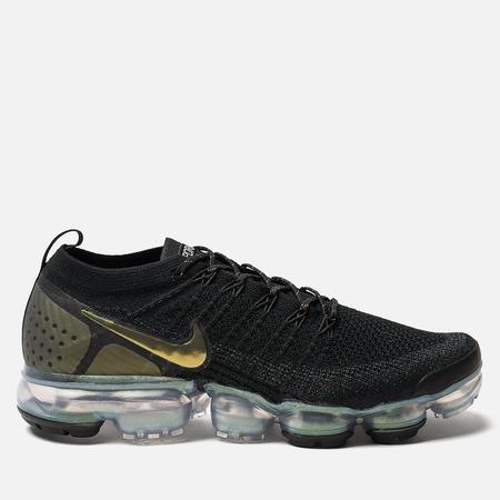Мужские кроссовки Nike Air Vapormax Flyknit 2 Black/Multicolor/Metallic Silver