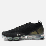 Мужские кроссовки Nike Air Vapormax Flyknit 2 Black/Multicolor/Metallic Silver фото- 1