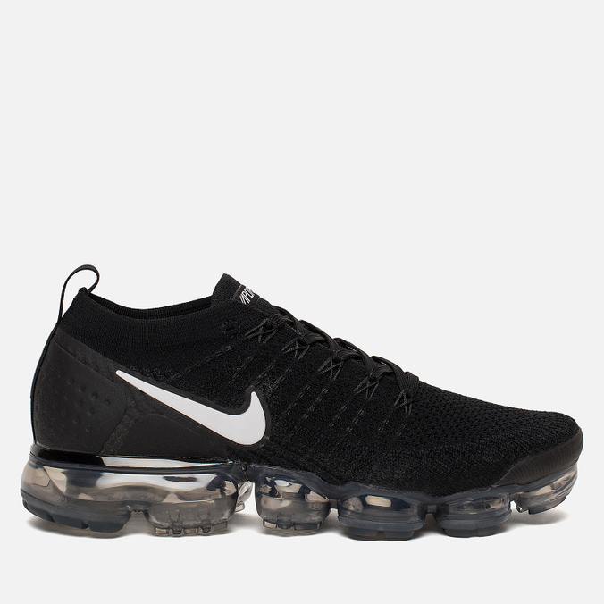 Мужские кроссовки Nike Air Vapormax Flyknit 2 Black/White/Dark Grey