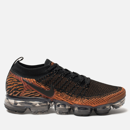 Мужские кроссовки Nike Air Vapormax Flyknit 2 Desert Orange/Black/Total Orange