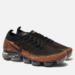 Мужские кроссовки Nike Air Vapormax Flyknit 2 Desert Orange/Black/Total Orange фото- 1