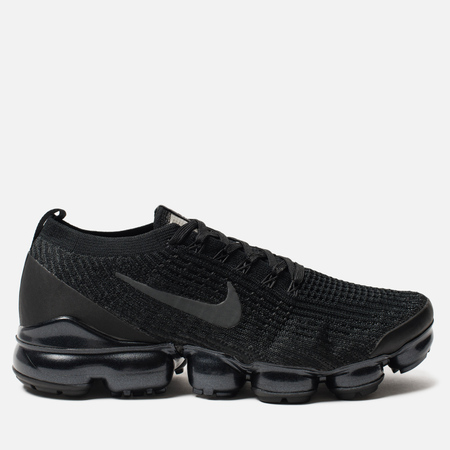 Мужские кроссовки Nike Air Vapormax Flyknit 3 Black/Anthracite/White/Metallic Silver