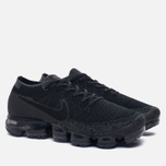 Мужские кроссовки Nike Air Vapormax Flyknit Black/Anthracite/Dark Grey фото- 2